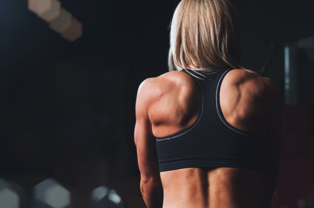 Female Muscle Back