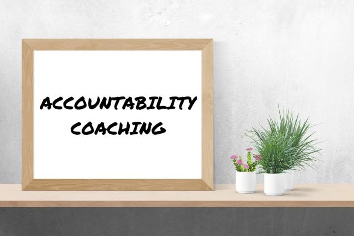 ACCOUNTABILITY COACHING SIGN