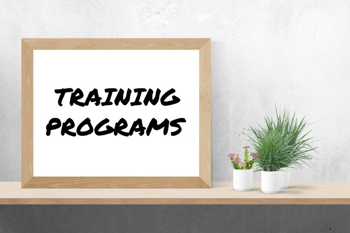TRAINING PROGRAMS SIGN