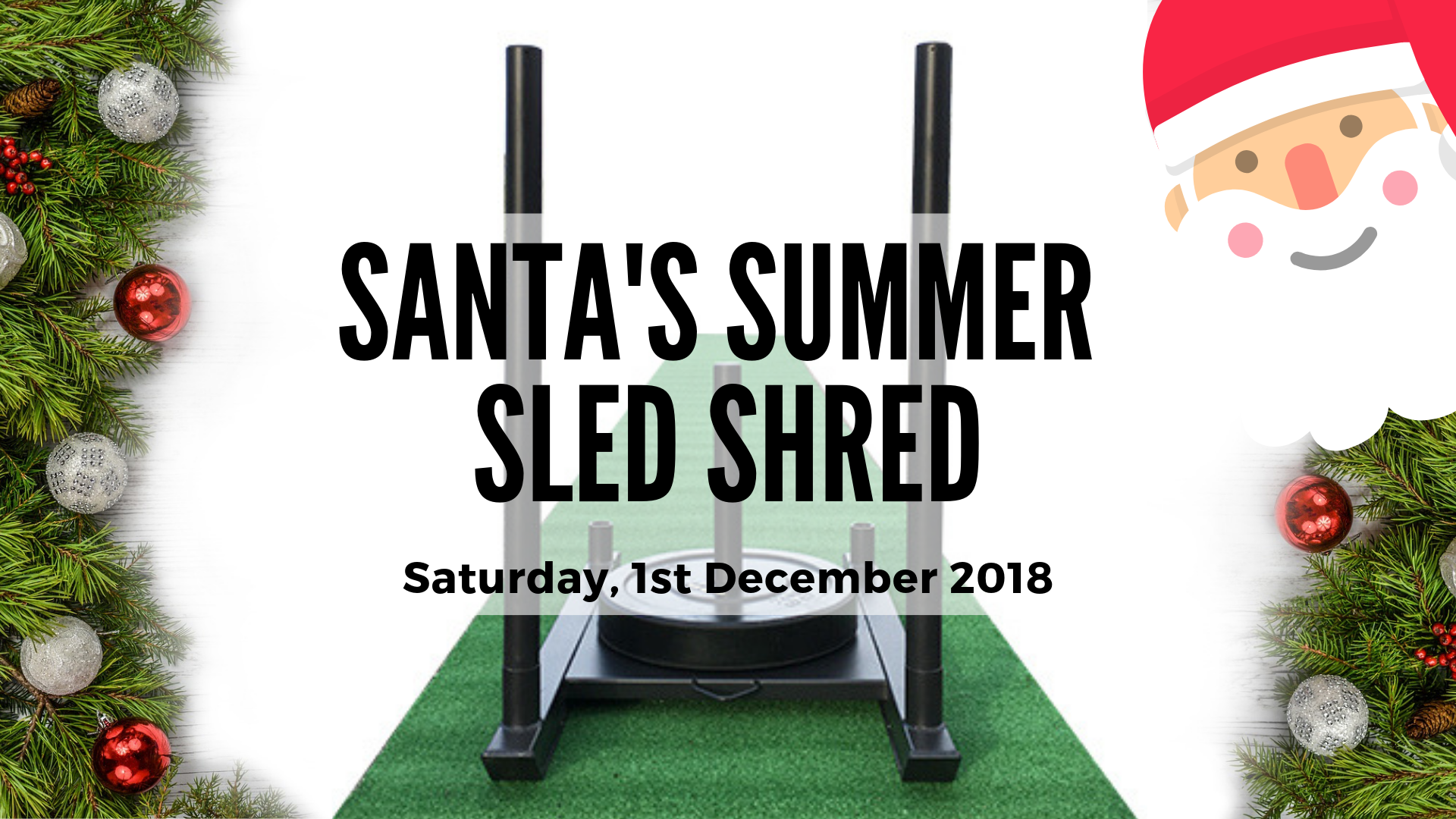 SANTA SUMMER SLED SHRED (1)